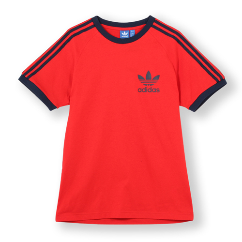 9e1f0b7b91 ADIDAS CALIFORNIA SPORT ESS T SHIRT – Red | The Stand Online